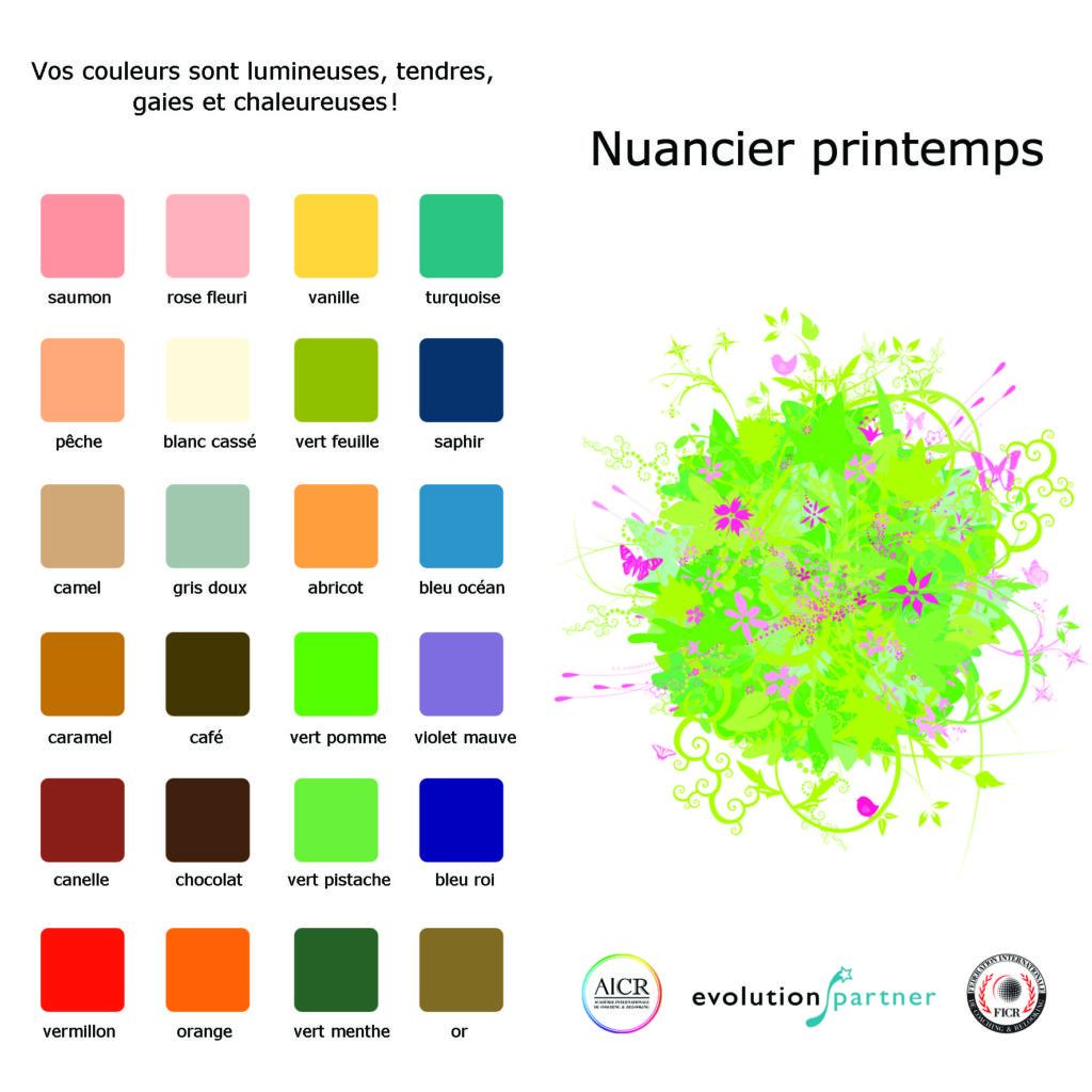 stunning liste des couleurs chaudes contemporary With superb liste des couleurs chaudes 5 quoi faire en mauricie lautomne
